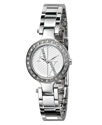 AX Armani Exchange Watch, Women's Stainless Steel Bracelet AX3027