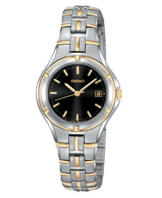 Seiko Watch, Women's Stainless Steel Bracelet SXDA90