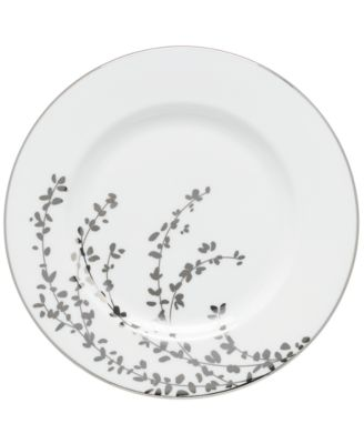 kate spade new york Gardner Street Platinum Salad Plate