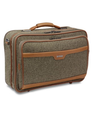 Hartmann Suitcase, Tweed Hybrid Travel Case
