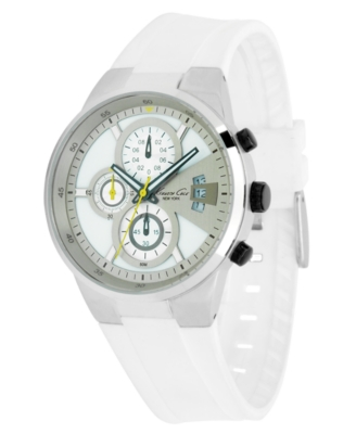 Kenneth Cole New York Watch, Men's White Polyurethane Strap KC1572
