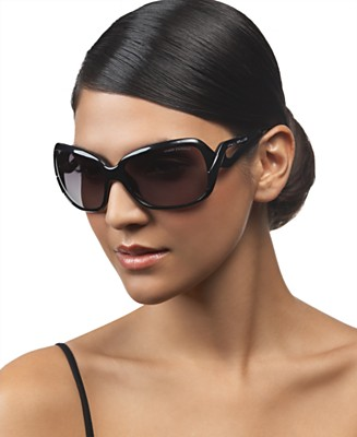 A/X Armani Exchange Oval Sunglasses from macys.com