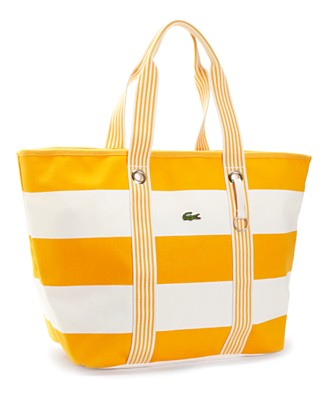 "Lacoste ""Summer Holiday"" Beach Bag - New Arrivals - Handbags & Accessories - Macy's from macys.com"