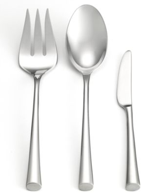 Dansk 18/10 Flatware, Bistro Café 3-Piece Hostess Set