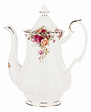 "Royal Albert ""Old Country Roses"" Coffee Pot, 42 oz."
