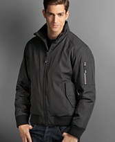 Macy's - Calvin Klein Men Bonded Ripstop Bomber Jacket - $79.99