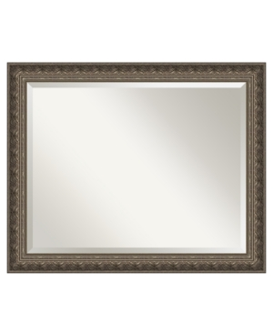 Amanti Art Barcelona Pewter Wall Mirror, Extra Large