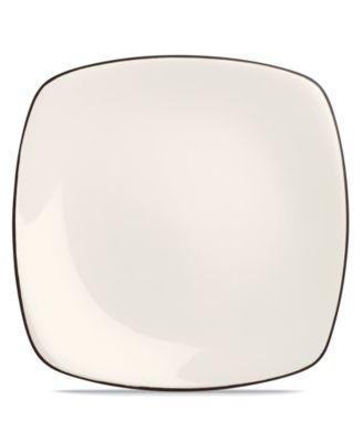 Noritake Dinnerware, Colorwave Chocolate Square Dinner Plate