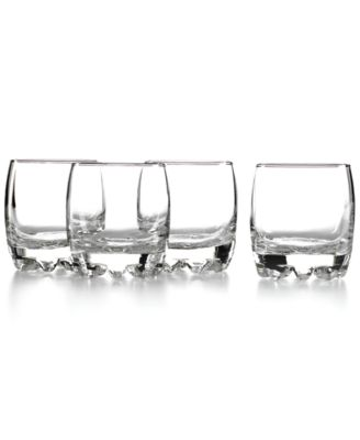 Bormioli Rocco Glassware, Set of 4 Galassia Rocks Glasses