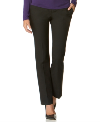 MICHAEL Michael Kors Petite Pants, Wellesley Straight Leg