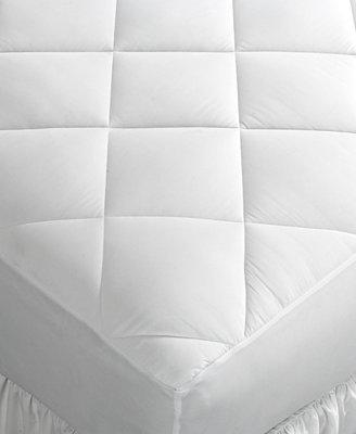 home design mattress pads mattress pads amp toppers bed bamboo terry mattress pad classic design at brookstone