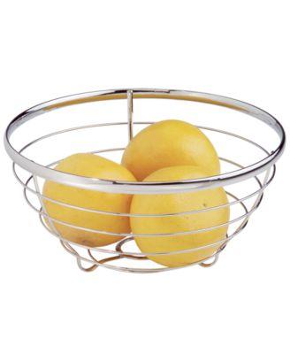 Fruit Bowl, Polished Chrome