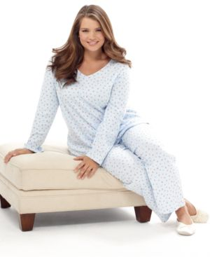 Charter Club Plus Size Pajamas, Knit