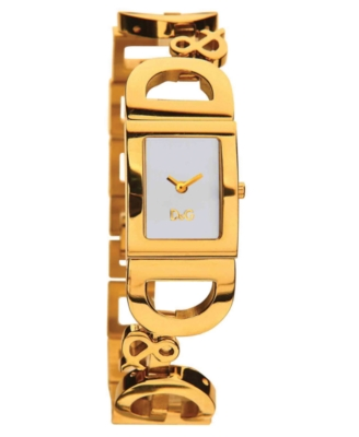 D&G Watch, Women's Goldtone Stainless Steel Bracelet DW0495
