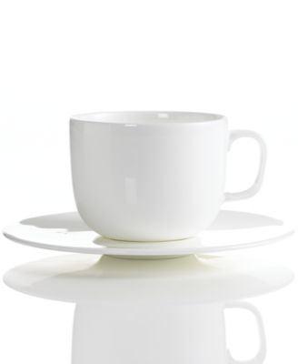 Hotel Collection Dinnerware, Bone China Cup and Saucer
