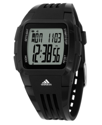 Adidas Watch, Men's Black Polyurethane Strap ADP6002