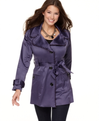 BCX Coat, Sateen Trench
