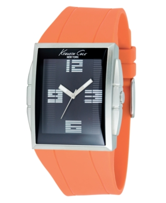 Kenneth Cole New York Watch, Men's Orange Strap KC1561 - Sports Watches