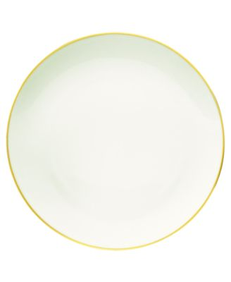 Noritake Colorwave Mustard Coupe Dinner Plate, 10.5""