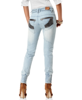 Apple Bottoms Jeans, Ivory Coast Moto Skinny, Saw Wash