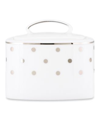 kate spade new york Larabee Road Covered Sugar Bowl