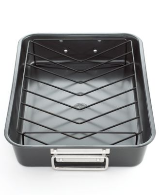 Non-Stick Roasting Pan w/Rack