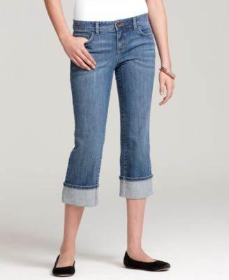 Tommy Hilfiger Jeans, Cuffed Crop Spirit Light Caroline Wash