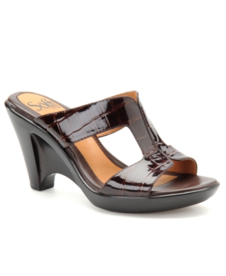 Sofft Shoes, Verona Slides Women's Shoes - Heels