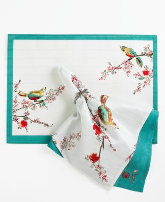 Lenox Table Linens, Chirp Napkin