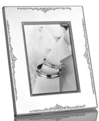 "Monique Lhuillier Waterford Picture Frame, Modern Love 5"" x 7"""