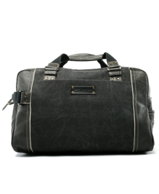 Marc New York by Andrew Marc Bag, Retro Calf and Denim Weekend Duffel