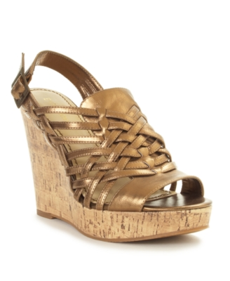 Enzo Angiolini Shoes, Muffin Wedges Women's Shoes