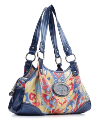 Kathy Van Zeeland Handbag, Morning Glory Swagger Shopper
