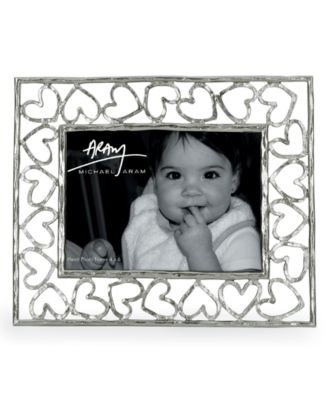 "Michael Aram Heart 4"" x 6"" Picture Frame"