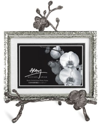 Michael Aram Picture Frame, Black Orchid Easel