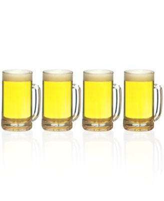 Mikasa Glassware, Set of 4 BrewMaster's Beer Mugs