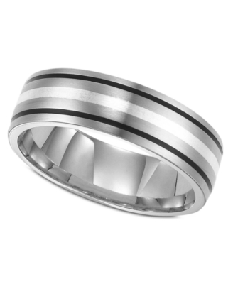 Men's Titanium Ring, 7 mm Band (Size 8-15)