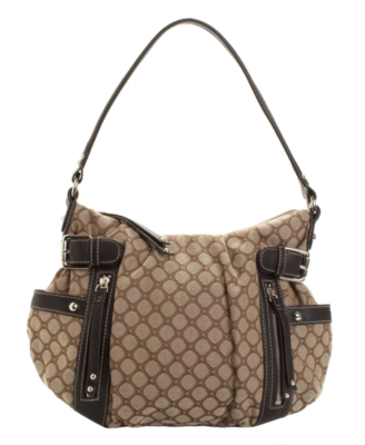 Canvas Hobo Bag - Nine West