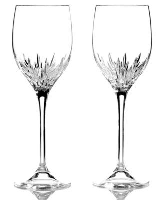 Vera Wang Wedgwood Set of 2 Duchesse Wine Glasses