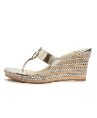 Michael Kors Shoes, Palm Beach Thong Wedges Women's Shoes