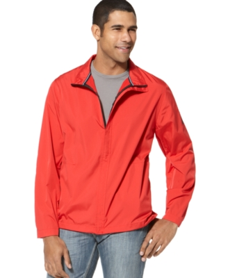 Nautica Jacket, Full Zip Packable Wind Jacket