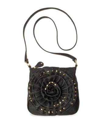 Steve Madden Handbag, Rosette Crossbody Bag, Small