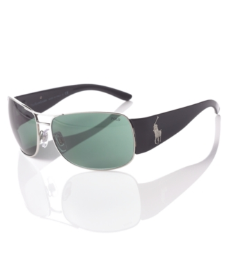 Polo Ralph Lauren Sunglasses, Logo Aviators