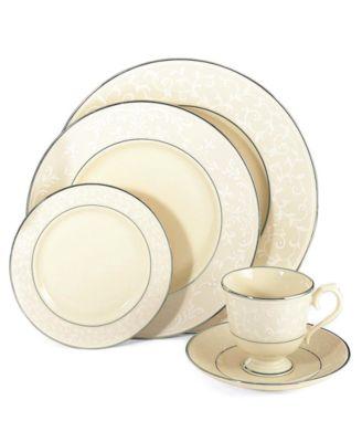 Lenox Dinnerware, Pearl Innocence 5 Piece Place Setting