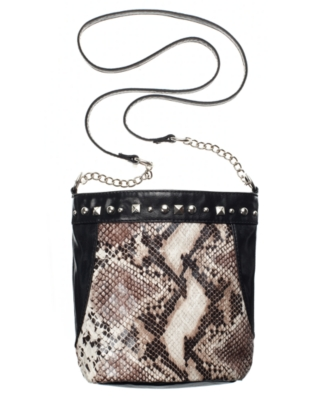 Carlos by Carlos Santana Handbag, Python Crossbody Bag