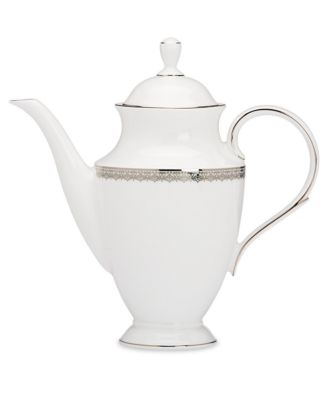 Lenox Lace Couture Coffee Pot
