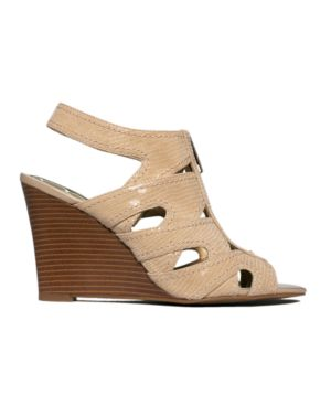 INC International Concepts Shoes, Dallas Wedge Sandals Women's Shoes
