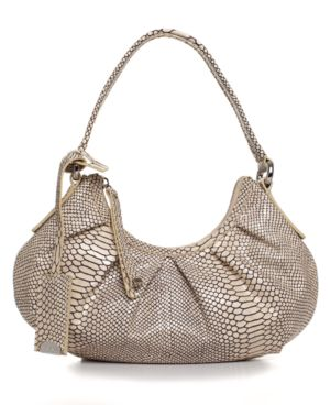 Calvin Klein Handbag, Python Oxford Date Bag - Handbags