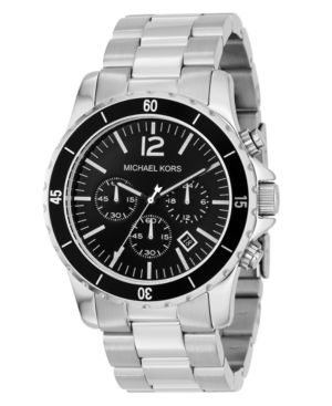 MICHAEL Michael Kors Watch, Men's Stainless Steel Bracelet MK8140