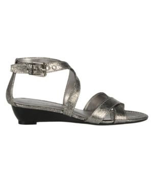 Franco Sarto Shoes, Scan Wedge Sandals Women's Shoes